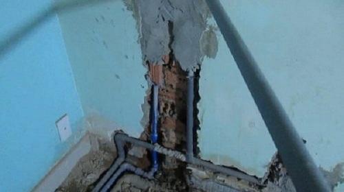 sửa chữa đường nước