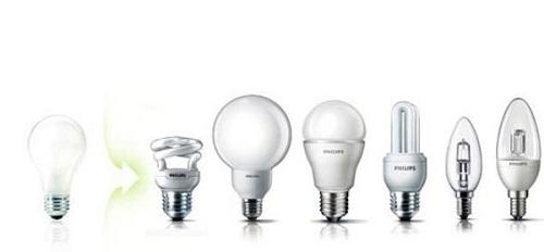 đa dạng bóng đèn