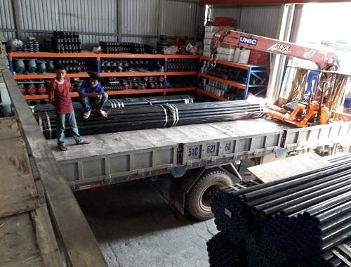 vận chuyển ống kẽm